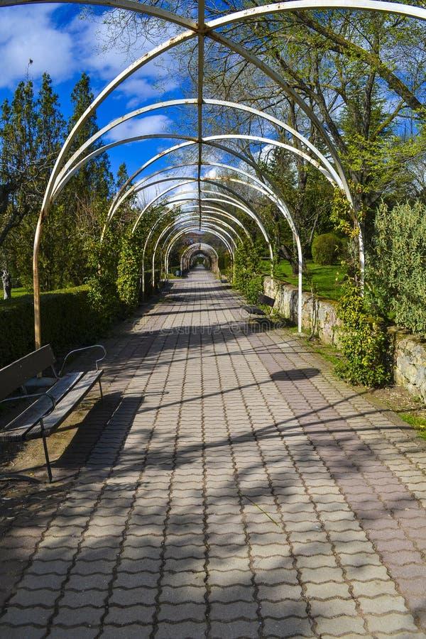 Διάβαση στο πάρκο Jesuits στοκ εικόνες με δικαίωμα ελεύθερης χρήσης