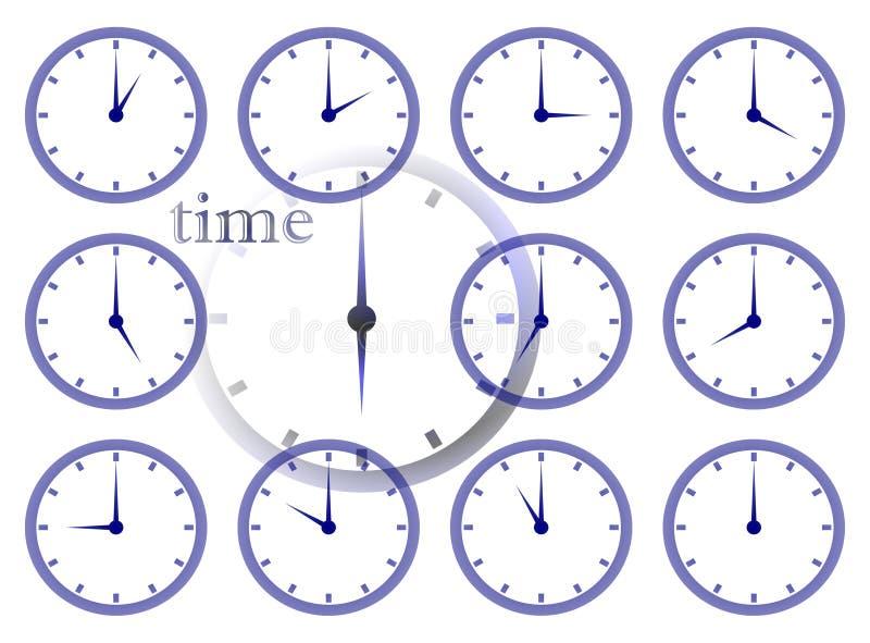διάβαση του χρόνου απεικόνιση αποθεμάτων