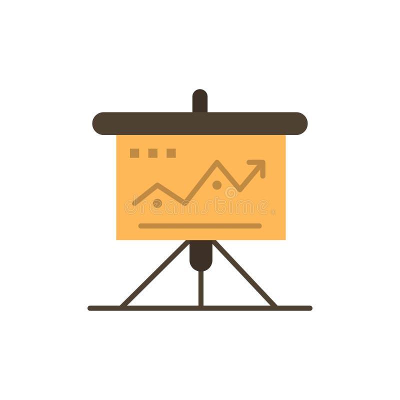 Διάγραμμα, επιχείρηση, πρόκληση, μάρκετινγκ, λύση, επιτυχία, επίπεδο εικονίδιο χρώματος τακτικής Διανυσματικό πρότυπο εμβλημάτων  διανυσματική απεικόνιση