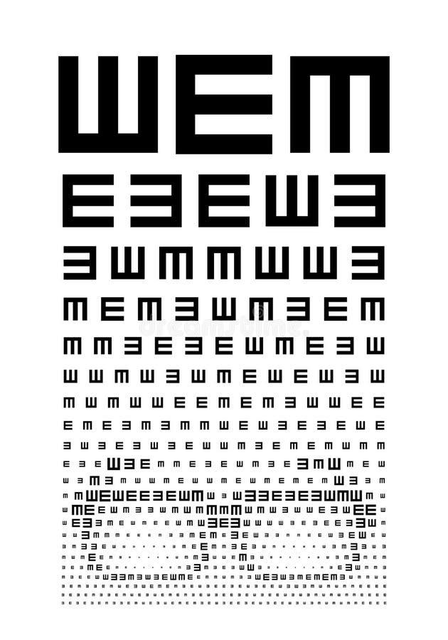 Διάγραμμα ματιών ελεύθερη απεικόνιση δικαιώματος