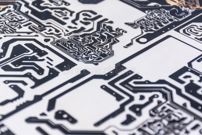 Διάγραμμα του πίνακα PCB στοκ εικόνα