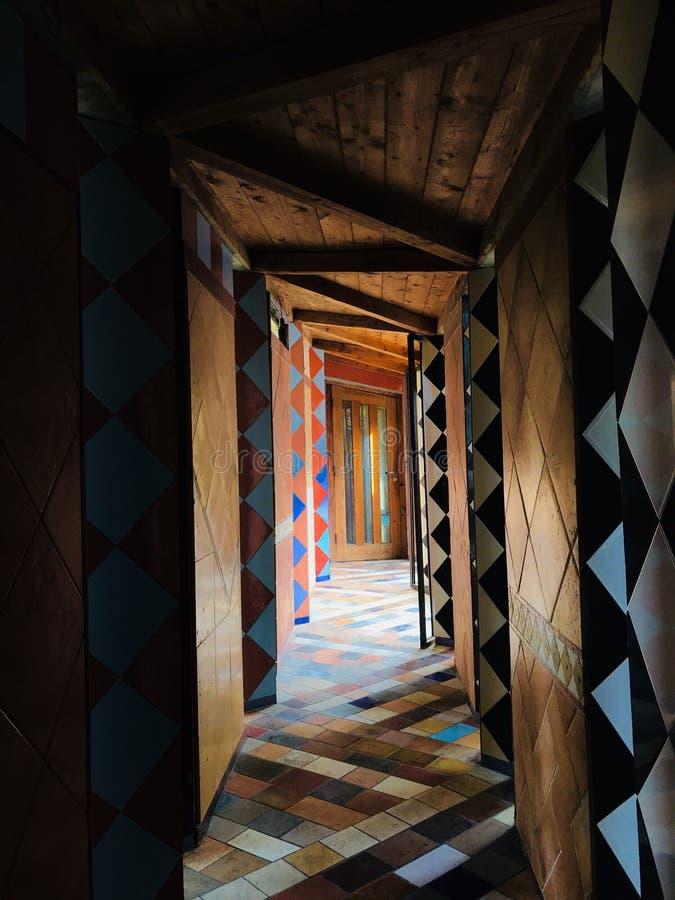 Διάδρομοι των χρωμάτων στοκ εικόνα με δικαίωμα ελεύθερης χρήσης