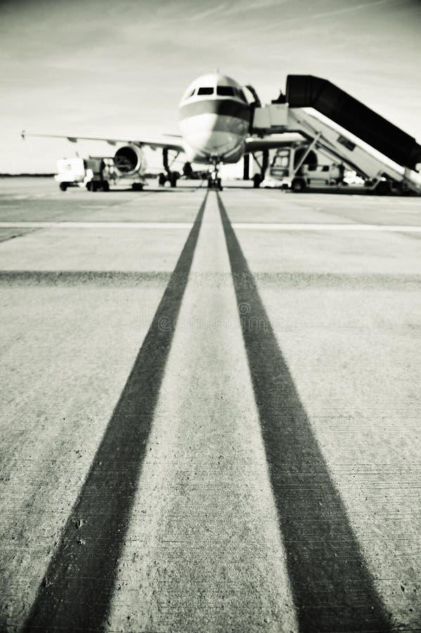 διάδρομος αεροπλάνων στοκ φωτογραφία