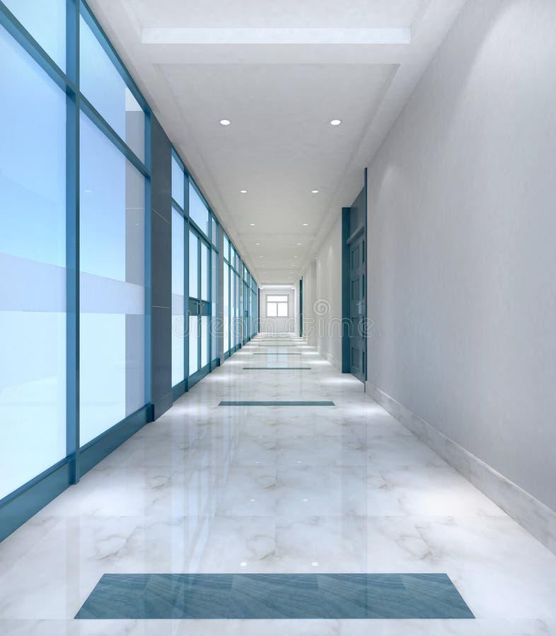 Διάδρομος γραφείων στοκ φωτογραφία με δικαίωμα ελεύθερης χρήσης