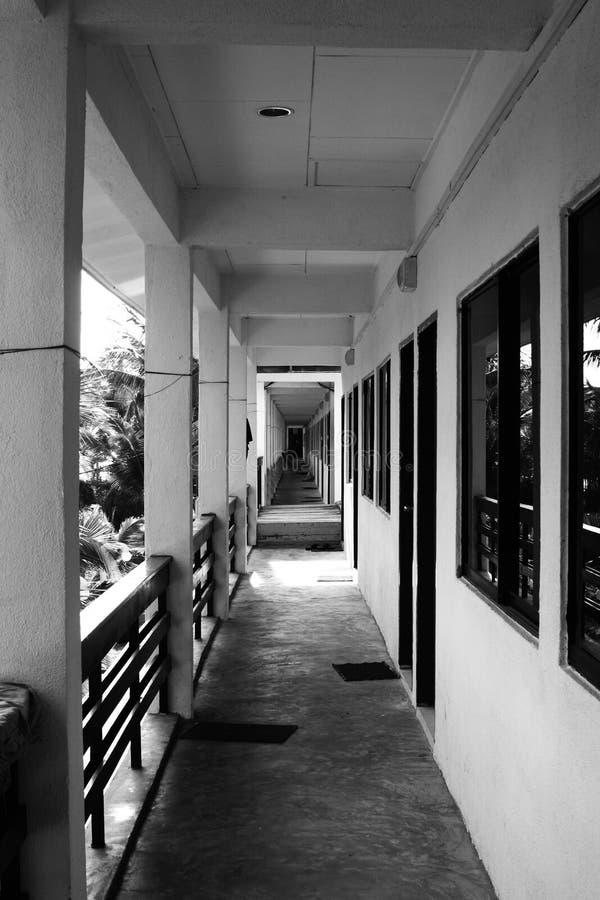 διάδρομος κενός στοκ εικόνα με δικαίωμα ελεύθερης χρήσης