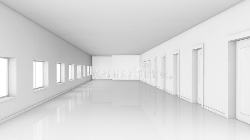 διάδρομος μεγάλος διανυσματική απεικόνιση