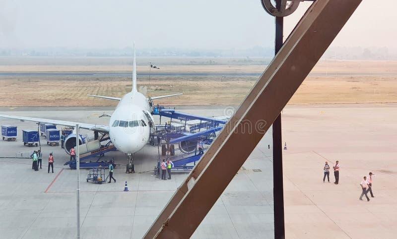 Διάδρομος του αερολιμένα Indore στοκ εικόνες με δικαίωμα ελεύθερης χρήσης