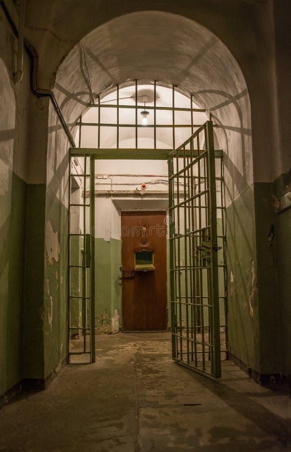 Διάδρομος φυλακών στοκ εικόνες