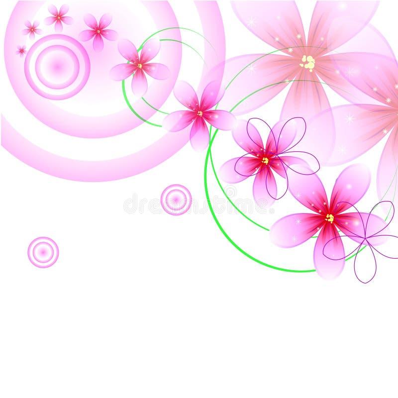 Διάθεση λουλουδιών διανυσματική απεικόνιση