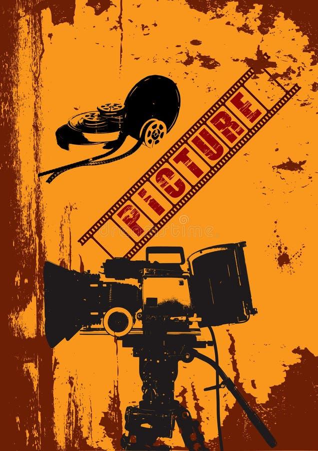 διάνυσμα ανασκόπησης grunge διανυσματική απεικόνιση