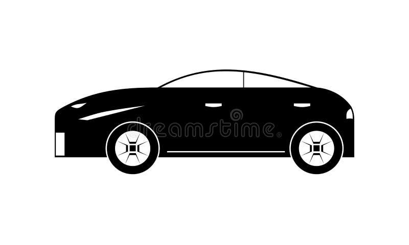 διάνυσμα απεικόνισης εικονιδίων αυτοκινήτων eps10 στοκ εικόνα με δικαίωμα ελεύθερης χρήσης