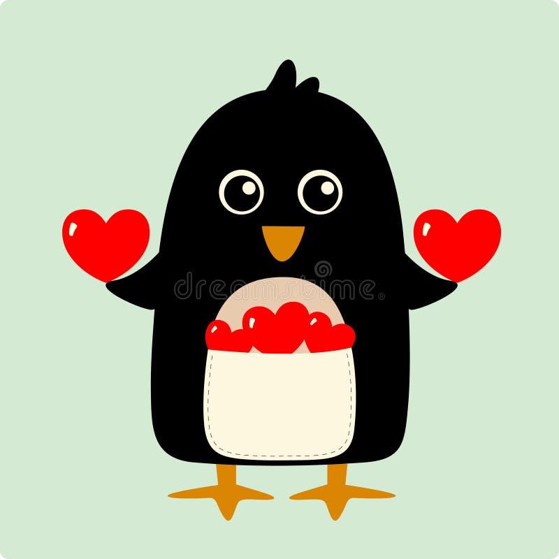 διάνυσμα απεικόνισης penguin διανυσματική απεικόνιση