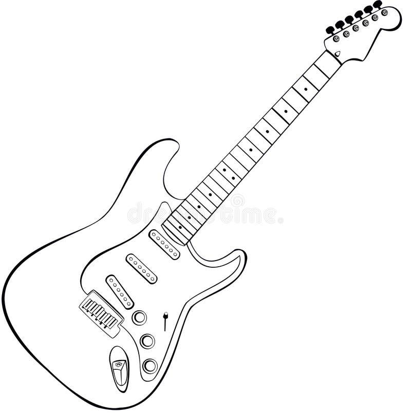 διάνυσμα βράχου κιθάρων