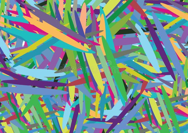 διάνυσμα γραμμών χρώματος απεικόνιση αποθεμάτων
