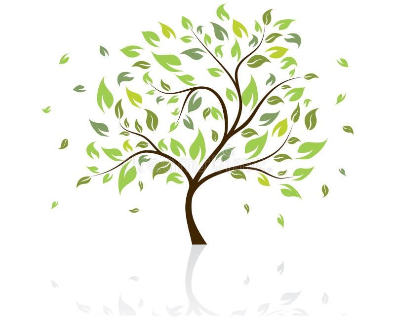 διάνυσμα δέντρων απεικόνιση αποθεμάτων