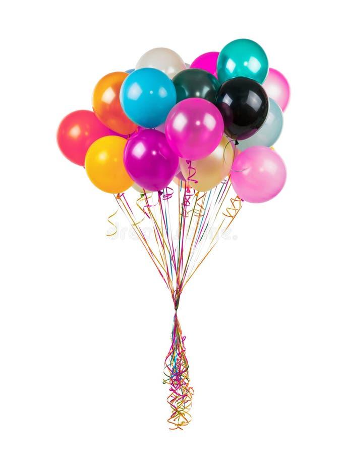 διάνυσμα διακοπών ημερών χρώματος μπαλονιών στοκ φωτογραφίες