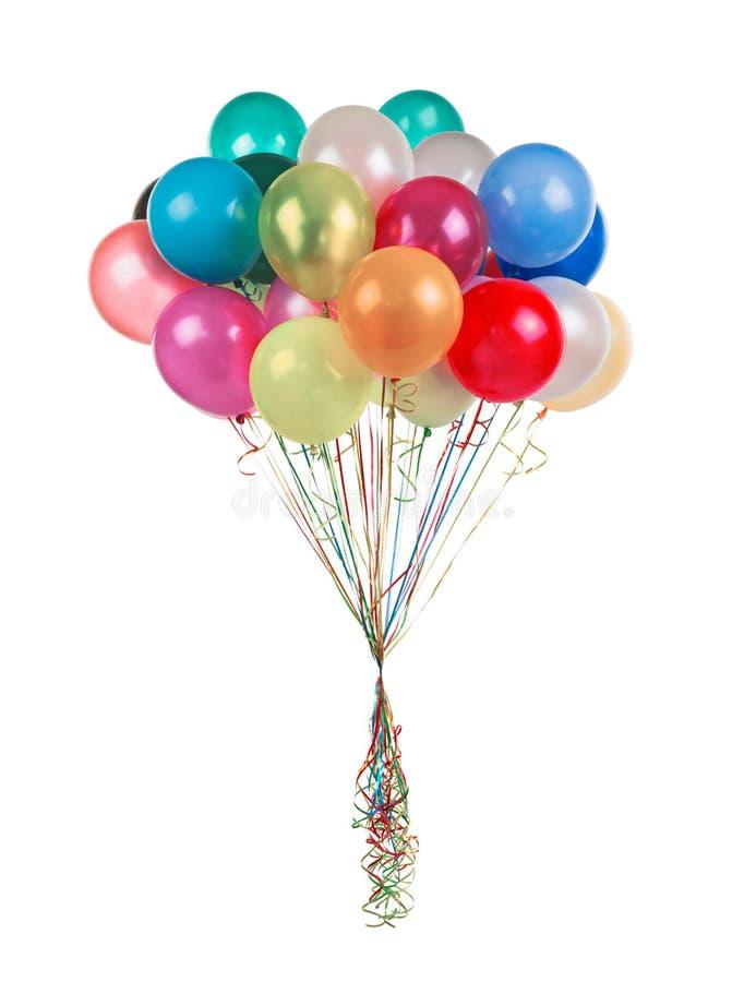 διάνυσμα διακοπών ημερών χρώματος μπαλονιών στοκ εικόνες