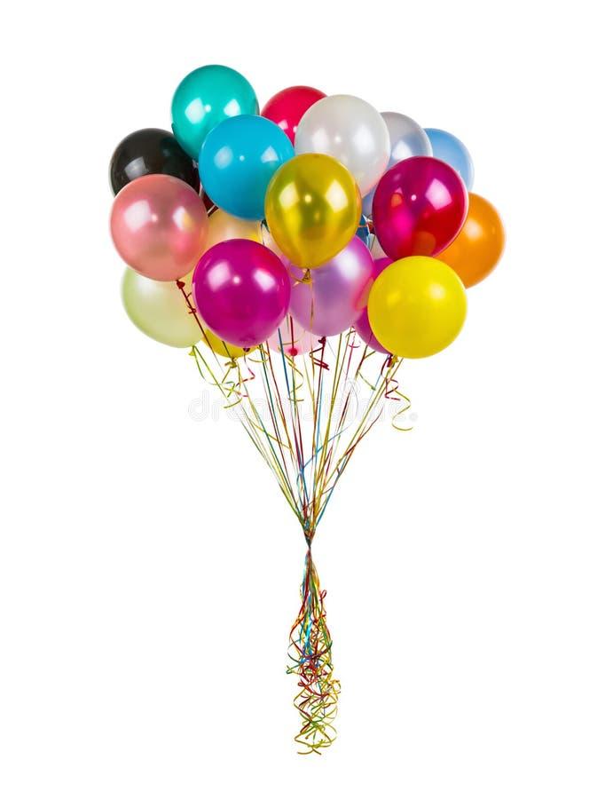 διάνυσμα διακοπών ημερών χρώματος μπαλονιών στοκ φωτογραφία με δικαίωμα ελεύθερης χρήσης