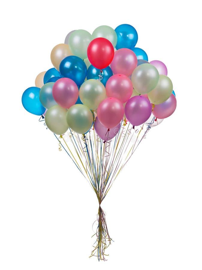 διάνυσμα διακοπών ημερών χρώματος μπαλονιών στοκ εικόνα με δικαίωμα ελεύθερης χρήσης