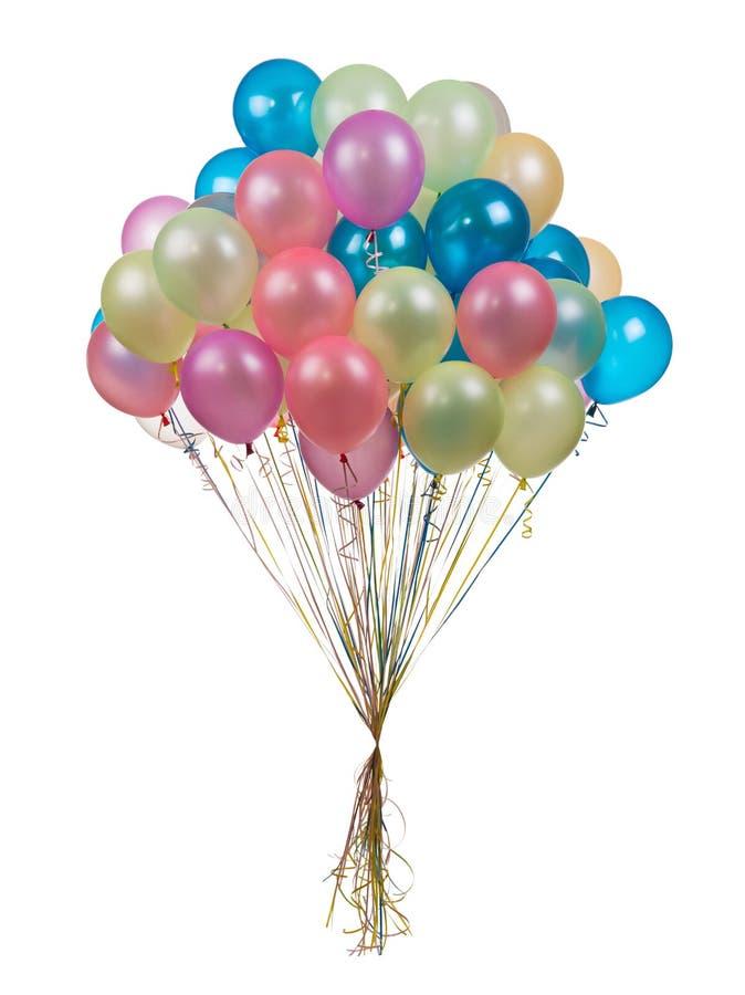 διάνυσμα διακοπών ημερών χρώματος μπαλονιών στοκ φωτογραφία