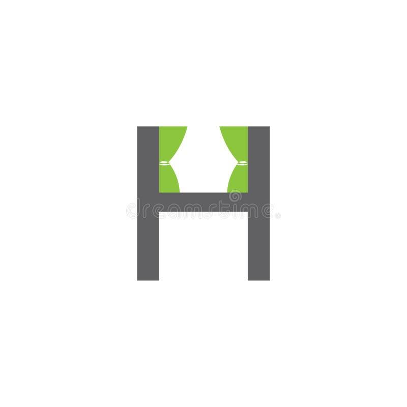 Διάνυσμα εγχώριων λογότυπων Εγχώριο εικονίδιο Εγχώρια απεικόνιση Έμβλημα επιστολών Χ διανυσματική απεικόνιση