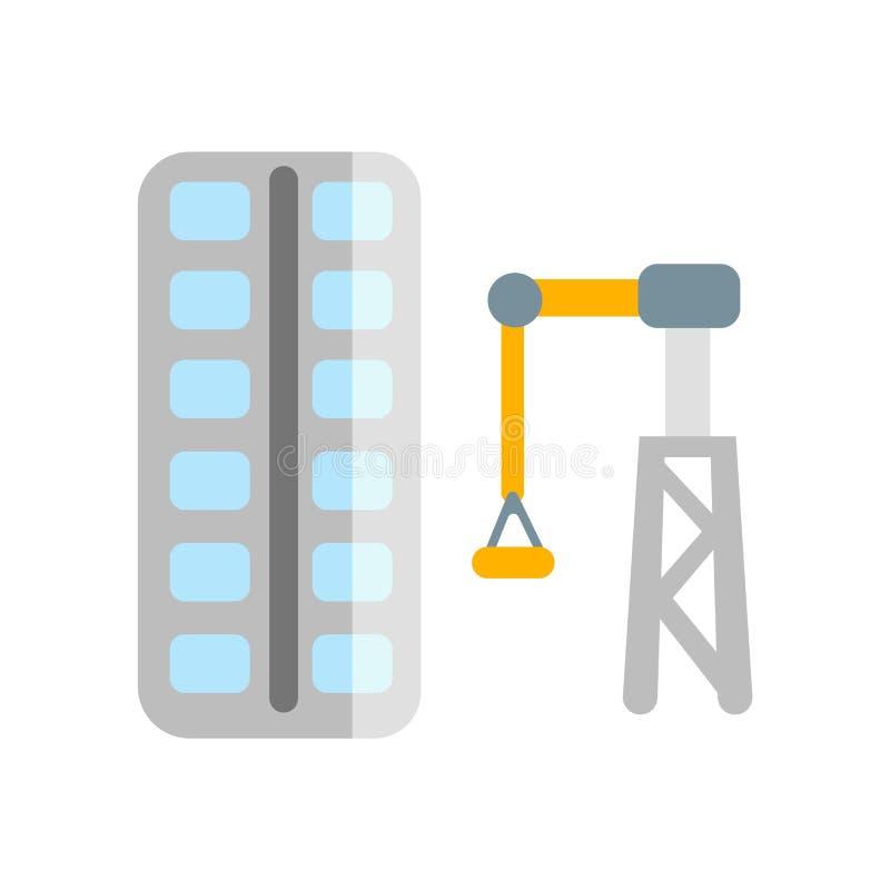 Διάνυσμα εικονιδίων εφαρμοσμένης μηχανικής που απομονώνεται στο άσπρο υπόβαθρο, σημάδι εφαρμοσμένης μηχανικής ελεύθερη απεικόνιση δικαιώματος