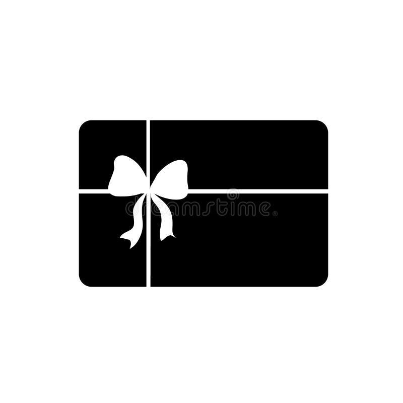 Διάνυσμα εικονιδίων καρτών δώρων διανυσματική απεικόνιση