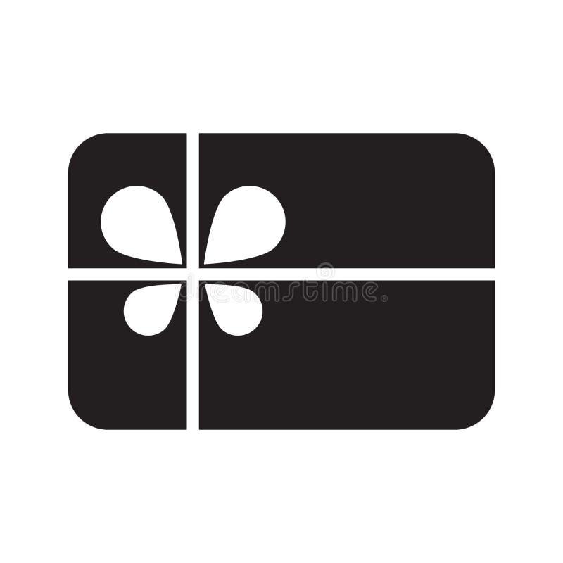 Διάνυσμα εικονιδίων καρτών δώρων ελεύθερη απεικόνιση δικαιώματος