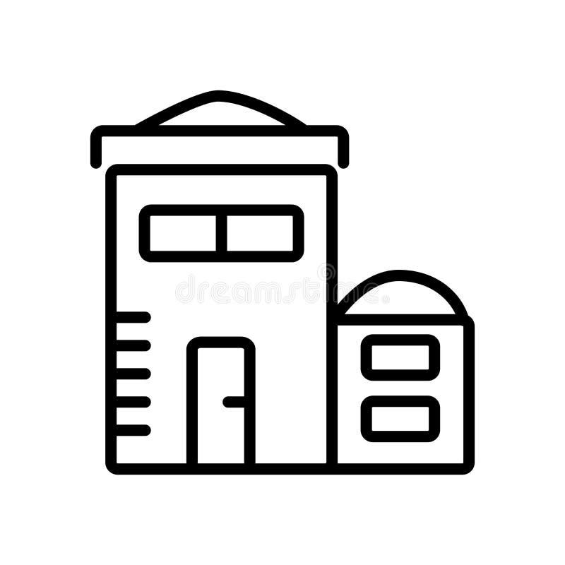 Διάνυσμα εικονιδίων κολλεγίου που απομονώνεται στο άσπρο υπόβαθρο, σημάδι κολλεγίου ελεύθερη απεικόνιση δικαιώματος