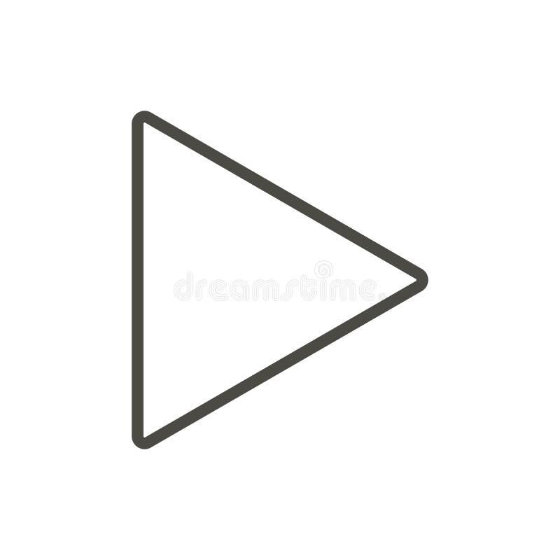 Διάνυσμα εικονιδίων παιχνιδιού Σύμβολο φορέων γραμμών διανυσματική απεικόνιση