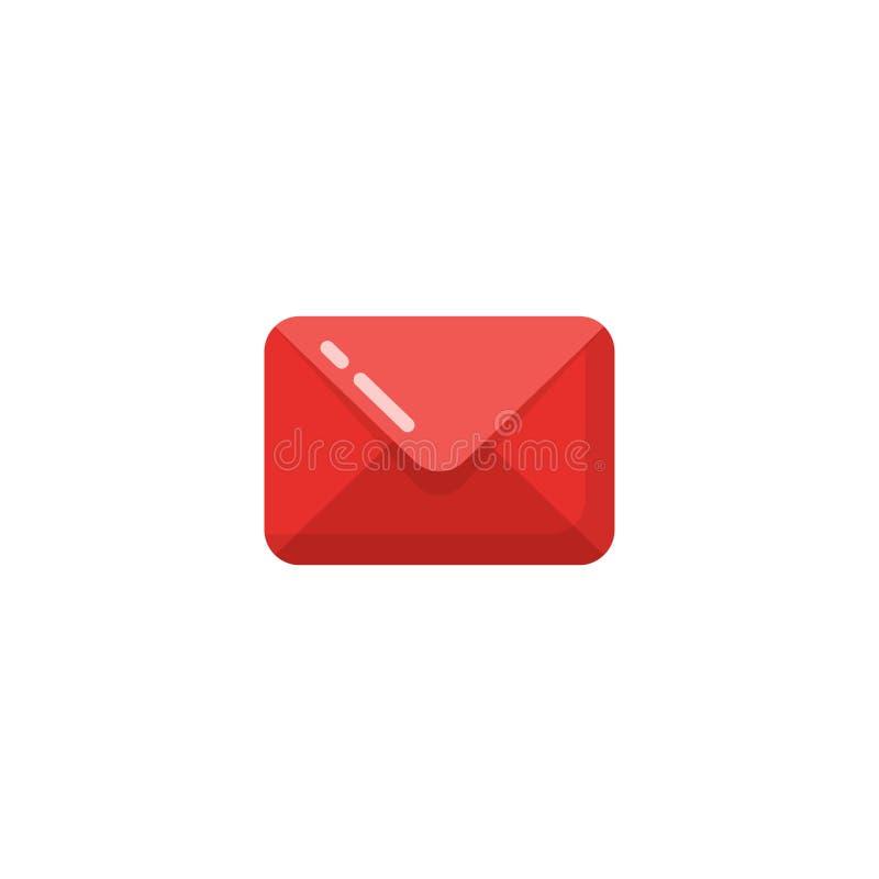 διάνυσμα εικονιδίων ταχυδρομείου μηνυμάτων σχέδιο συμβόλων εικονιδίων ηλεκτρονικού ταχυδρομείου ελεύθερη απεικόνιση δικαιώματος