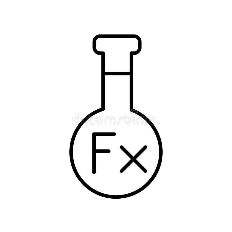 Διάνυσμα εικονιδίων τύπου που απομονώνεται στο άσπρο υπόβαθρο, το σημάδι τύπου, το σημάδι και τα σύμβολα στο λεπτό γραμμικό ύφος  απεικόνιση αποθεμάτων