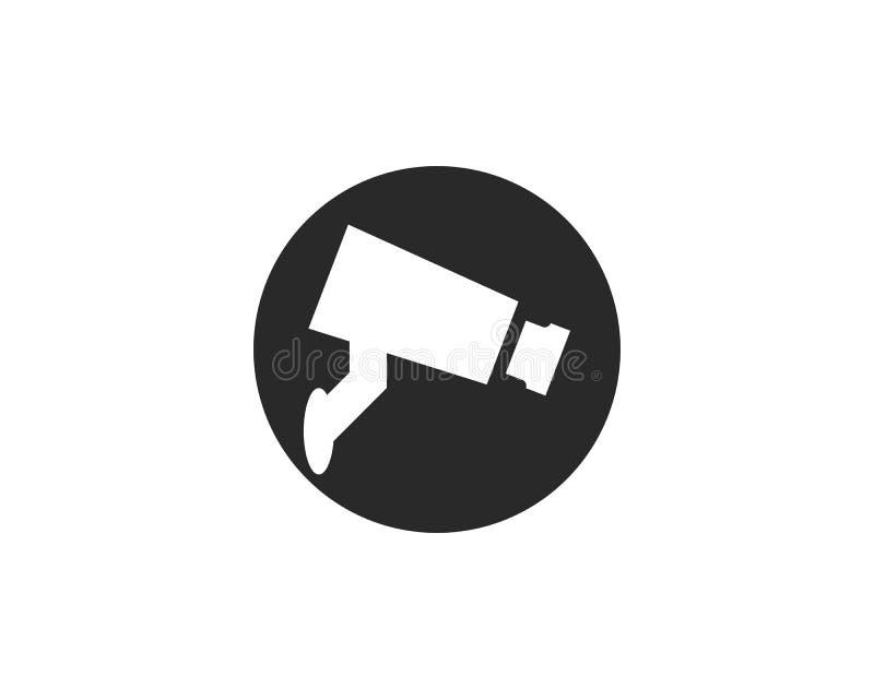 Διάνυσμα εικονιδίων CCTV απεικόνιση αποθεμάτων