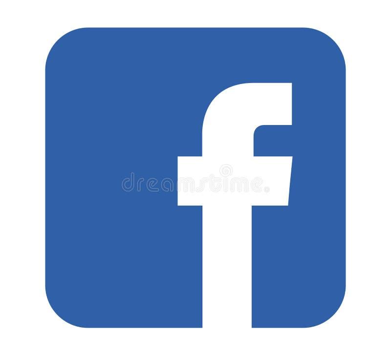 Διάνυσμα εικονιδίων Facebook διανυσματική απεικόνιση