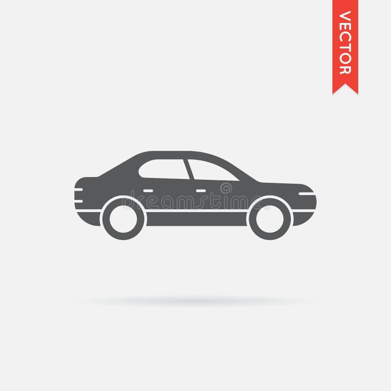 Διάνυσμα εικονιδίων αυτοκινήτων διανυσματική απεικόνιση