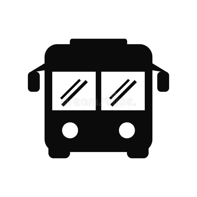 Διάνυσμα εικονιδίων λεωφορείων διανυσματική απεικόνιση