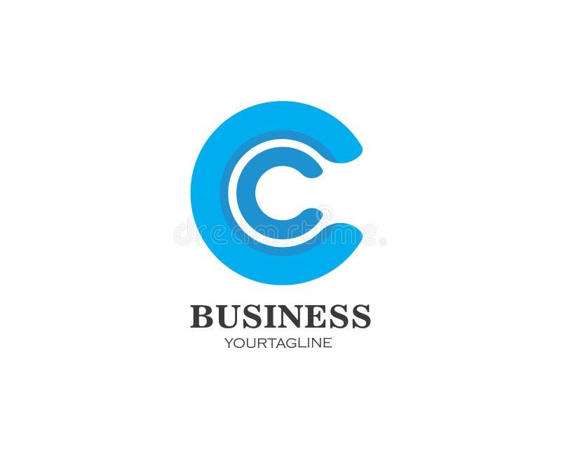 διάνυσμα επιχειρησιακών προτύπων λογότυπων επιστολών γ ελεύθερη απεικόνιση δικαιώματος