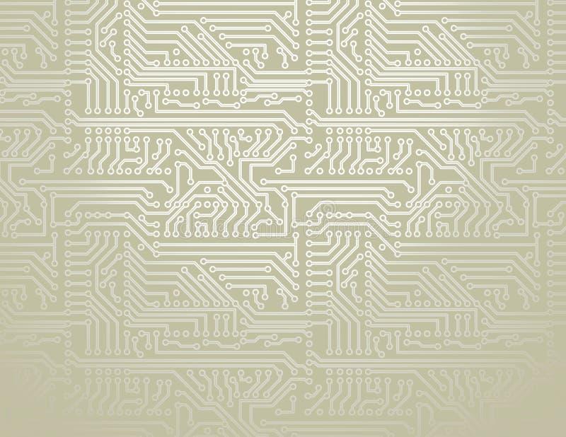διάνυσμα κυκλωμάτων χαρτ&o απεικόνιση αποθεμάτων