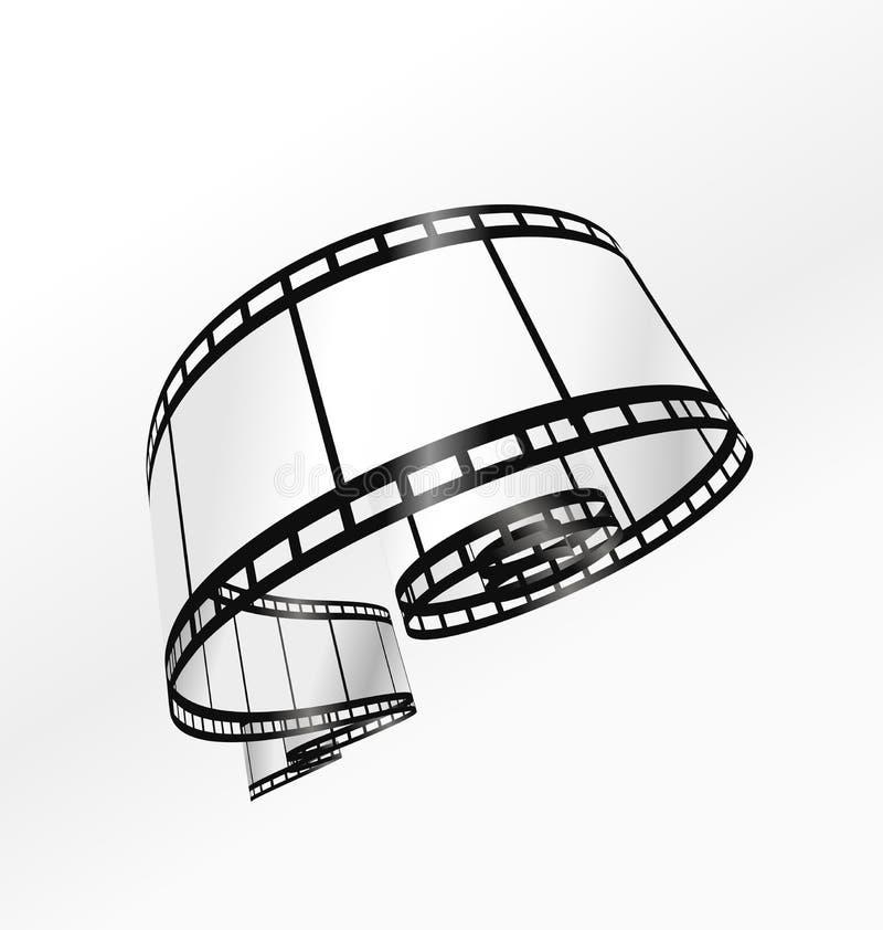 διάνυσμα λουρίδων ταινιών ελεύθερη απεικόνιση δικαιώματος