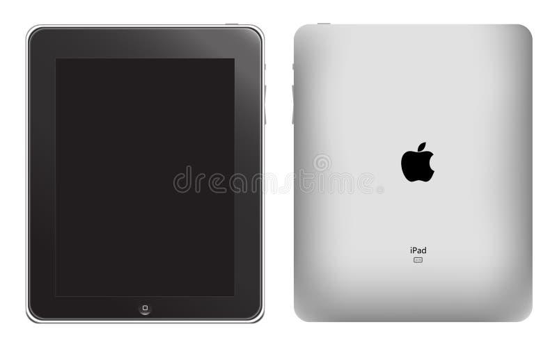 διάνυσμα μήλων ipad διανυσματική απεικόνιση