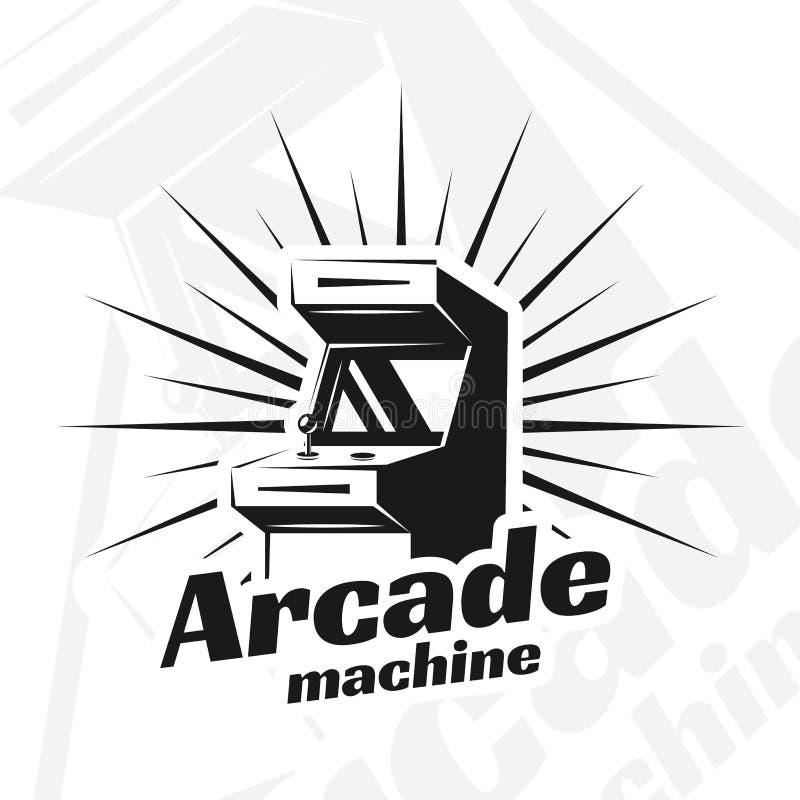 Διάνυσμα μηχανών Arcade ελεύθερη απεικόνιση δικαιώματος