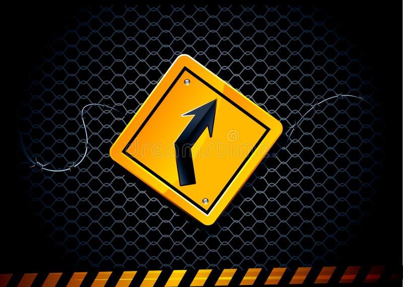 διάνυσμα οδικών σημαδιών απεικόνιση αποθεμάτων