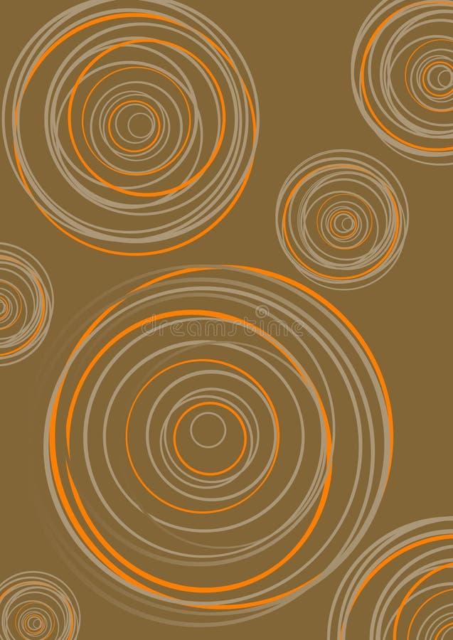 διάνυσμα ομάδας κύκλων διανυσματική απεικόνιση