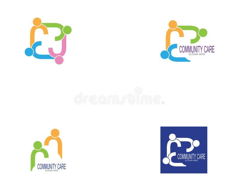 Διάνυσμα ομάδων εργασίας εικονιδίων ανθρώπων διανυσματική απεικόνιση