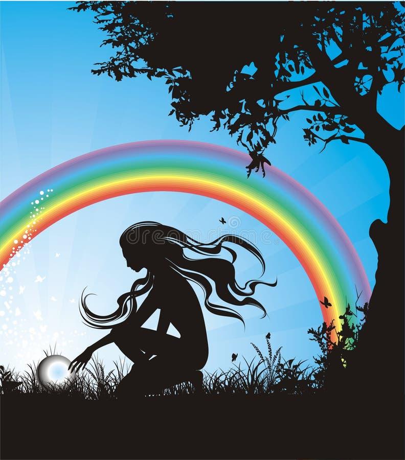 Download διάνυσμα ουράνιων τόξων αν&alph Διανυσματική απεικόνιση - εικονογραφία από χρώμα, καλοκαίρι: 1531925