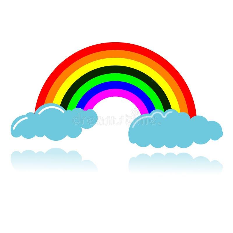 Download Διάνυσμα ουράνιων τόξων διανυσματική απεικόνιση. εικονογραφία από ζωγραφική - 13178627