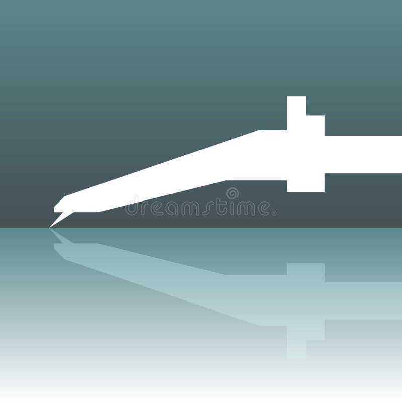 διάνυσμα περιστροφικών π&lambd απεικόνιση αποθεμάτων