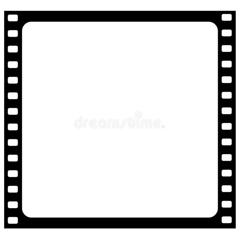 διάνυσμα πλαισίων ταινιών ελεύθερη απεικόνιση δικαιώματος