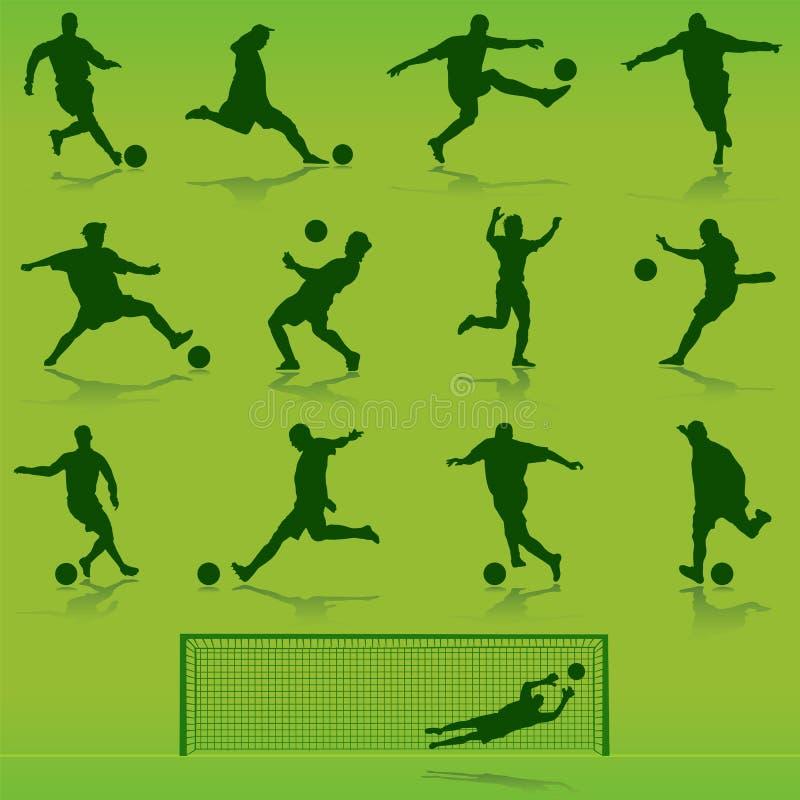 διάνυσμα ποδοσφαίρου διανυσματική απεικόνιση
