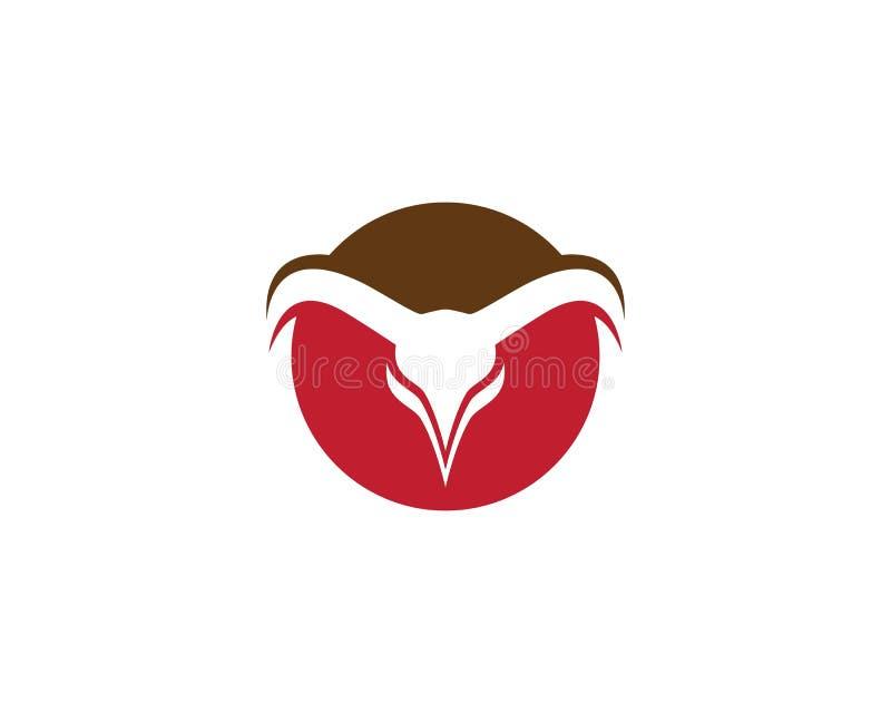 Διάνυσμα προτύπων λογότυπων του Bull ελεύθερη απεικόνιση δικαιώματος